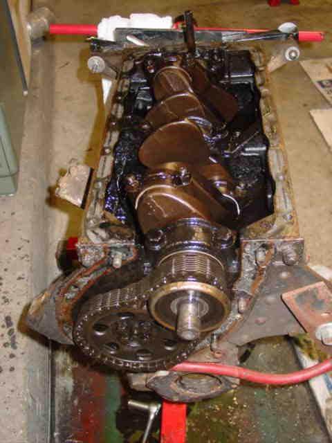 Dsc on Camshaft Gear Engine Timing
