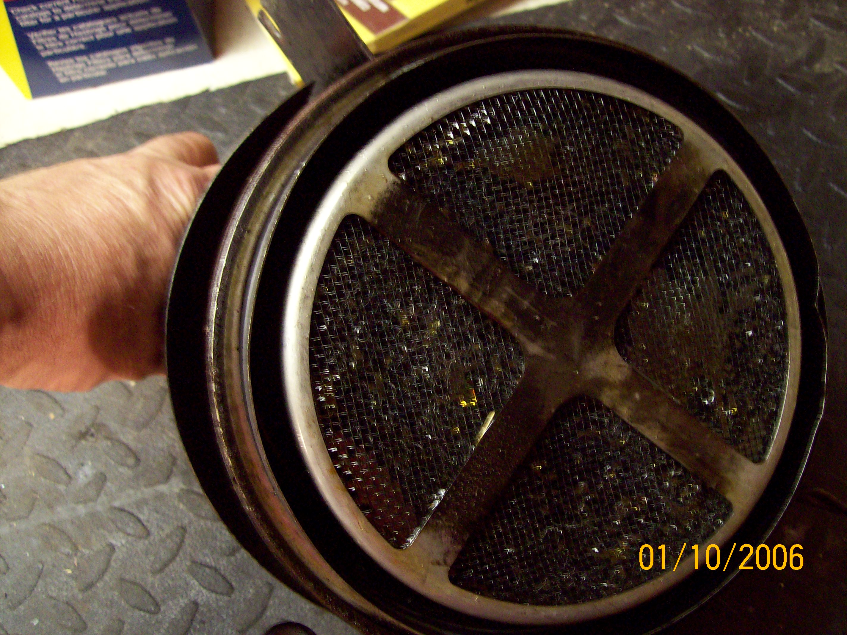Donaldson Oil Bath Air Cleaner : Willys air cleaners